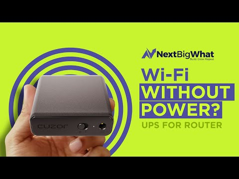 Wi-fi Without Electricity? Get A UPS For Your Router From This Indian Startup