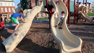 Fun Playground for kids Family fun Play Area Video for Kids