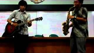 Cintaku (Chrisye Cover) & Kisah Romantis (Glenn Fredly Cover) w/ Sax-Guitar Duet
