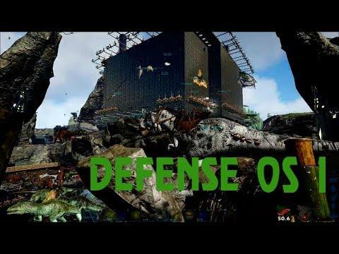Ark Survival Evolved Official: Server 1 Defense Vs. BLDX