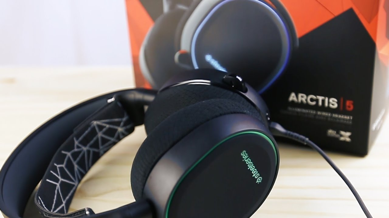 Buy SteelSeries Arctis 5 black from £89.99 – Compare Prices on idealo.co.uk