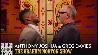 Anthony Joshua vs Greg Davies... vs Judi Dench? | The Graham Norton Show | Fridays at 11/10c
