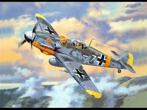 Сборка модели Мессершмитт» BF-109 F2 - часть 2