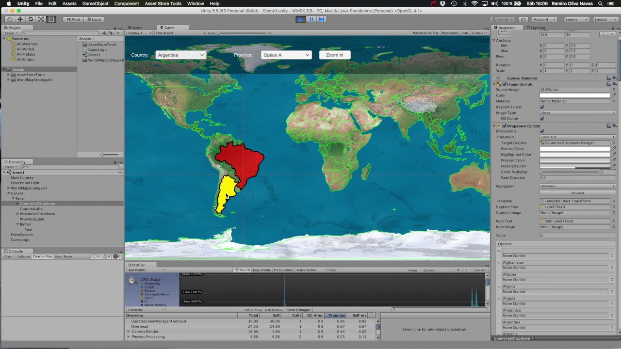 Tutorial 1 creating a simple ui for world map strategy kit youtube tutorial 1 creating a simple ui for world map strategy kit gumiabroncs Images