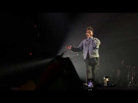 The Weeknd Columbus, Ohio - Sidewalks - Crew Love September 19th, 2017