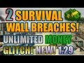 GTA 5 Online: 2 SURVIVAL WALL BREACHES! [1.29] NEW! (GOD MODE)