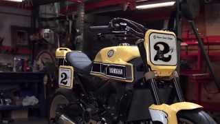 Yamaha Yard Built 900 'Faster Wasp' by Roland Sands Design