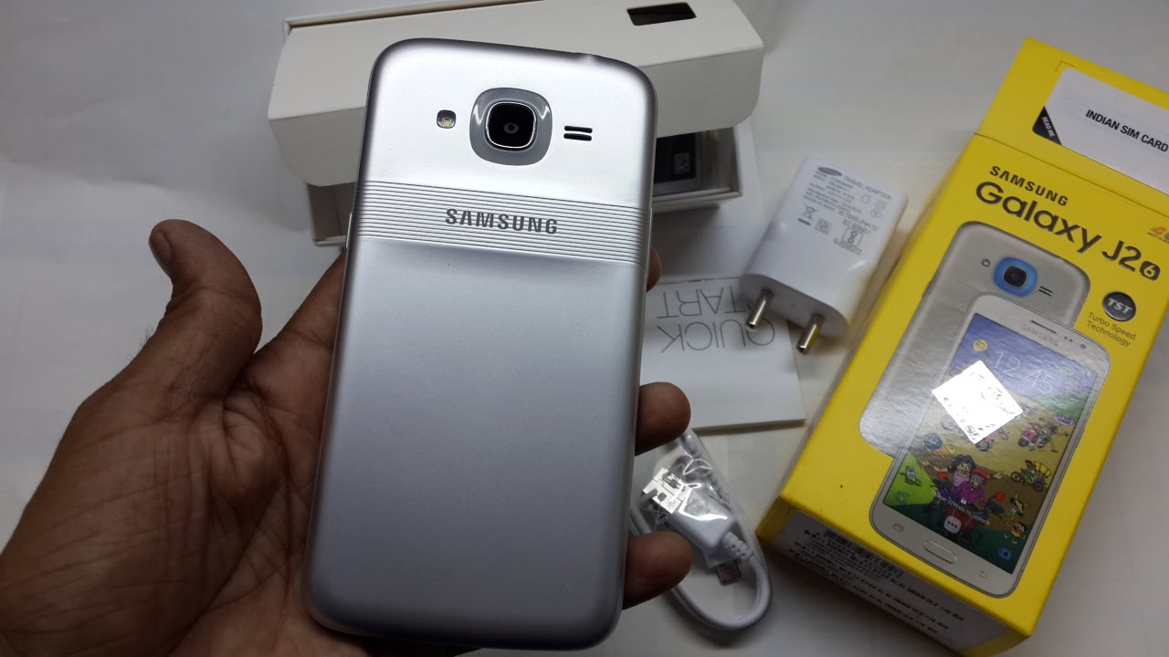 detailed look ff6fe f88b1 Samsung Galaxy J2 2016 Unboxing with Smart Glow Demo