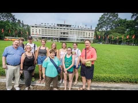 Milton Area High School - Trip to Vietnam - Ho Chi Minh City - 17 June 2017