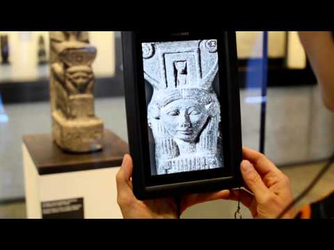 Multimedia-Guide des Ägyptischen Museums