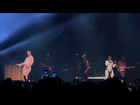 Sam Smith & Normani - Dancing With A Stranger | LIVE December 2019 (Tampa, FL)
