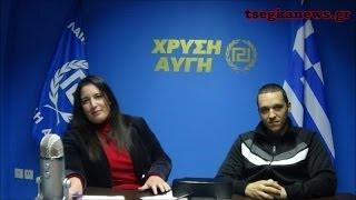 Συνέντευξη Ηλία Κασιδιάρη στη Μαρία Τσέγκα (23/1/2014)