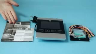 Видеодомофон DOM DS-4S: обзор, подключение, настройка(, 2017-04-25T07:49:07.000Z)