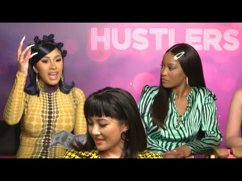 Chino - Cardi B reveals why she couldn't go off on the pole while filming HUSTLERS