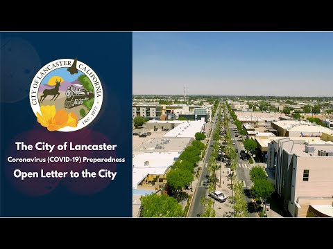 Open Letter To The City Of Lancaster, CA
