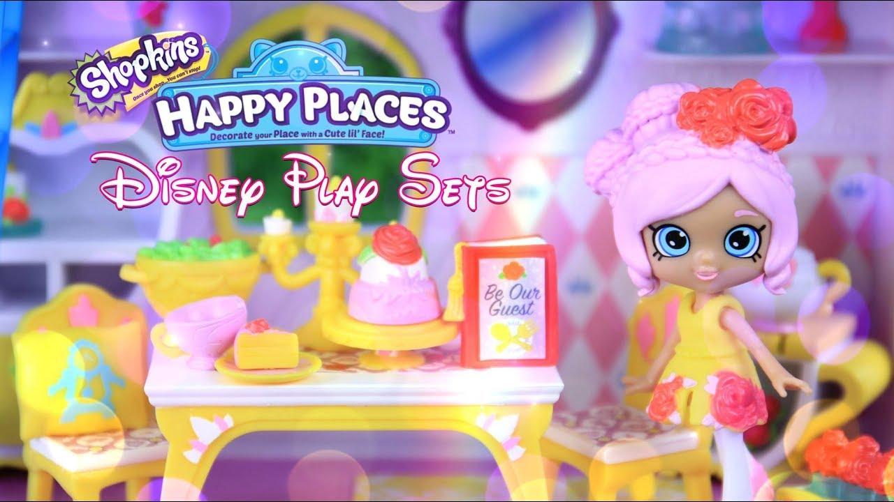 Unbox Daily: SHOPKINS DISNEY Happy Places ALL NEW MEGA ...