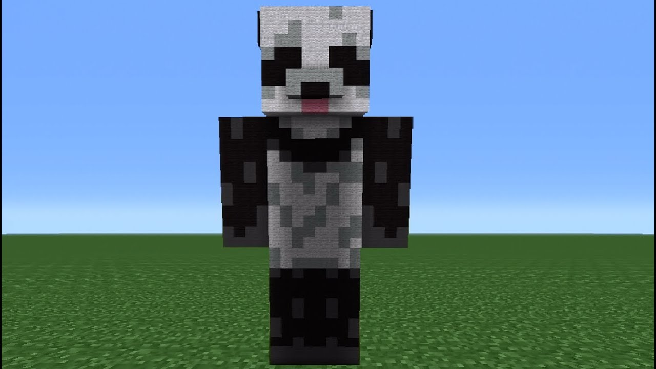 Panda Skin Red Minecraft Anime Pictures Wwwpicturesbosscom