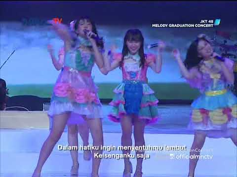 [HD] JKT48 - Gomen ne, SUMMER @ Melody Graduation Concert (TV Ver.) 180513