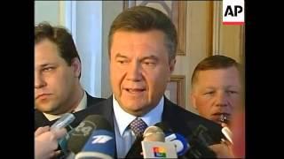 Orange parties in coalition deal, back Tymoshenko as PM