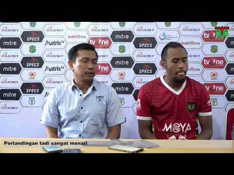 AWAY GAME LIGA 2 2019: Post-Match Press Conference PSMS vs Persita