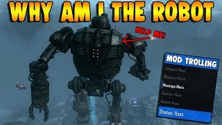 TURNING ZOMBIE PLAYERS INTO THE ROBOT!! (Zombie Mod Trolling)