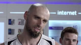 Marcin Gortat przeszedł do Play i ma internet 4G LTE