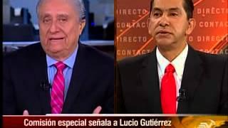 Entrevista Lucio Gutiérrez - Contacto Directo