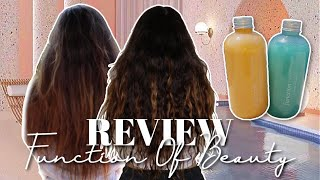 Is Customised Shampoo + Conditioner Worth it? | Function of Beauty Complete Review & Results