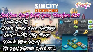 Tutorial Hack Game Simcity Buildit Special Tahun Baru Di Android 100% Work No Root