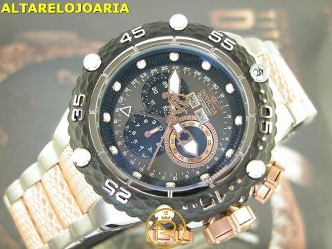 Relógio invicta subaqua noma VI 21675 Cronografo mov suiço na  www.altarelojoaria.com.br
