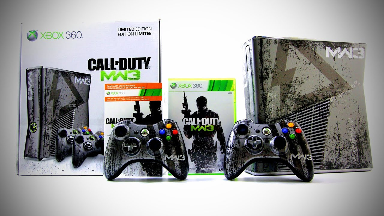 Modern Warfare 3 Xbox 360 Console Unboxing Limited Edition Youtube