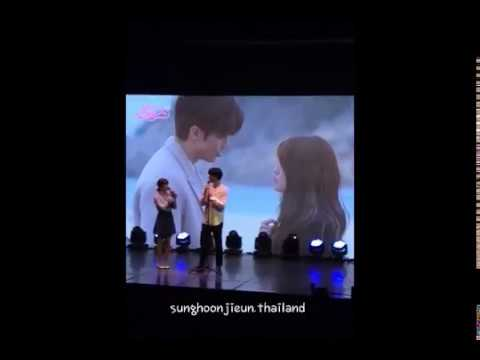 Song Ji Eun @ Sung Hoon's Fanmeeting in Seoul Singing 'Same' [17.09.2017]