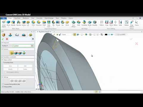 How to Convert DWG Drawings into 3D Models