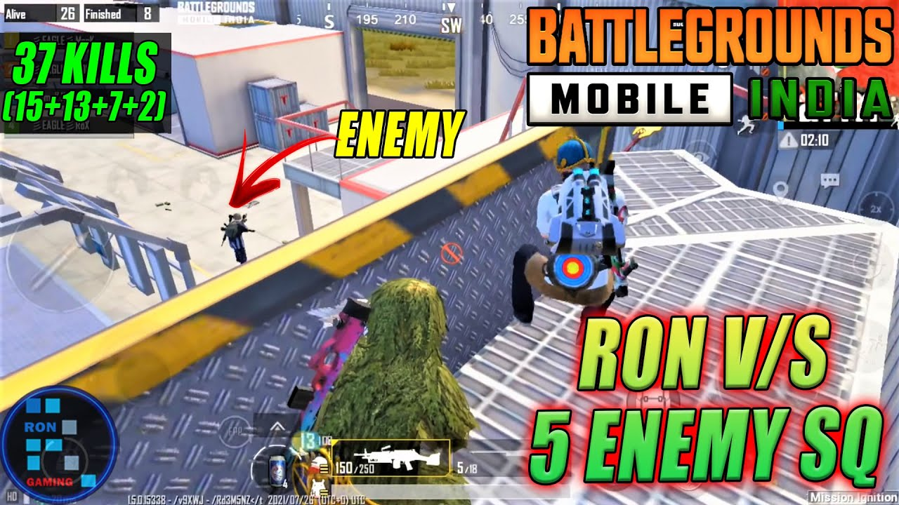BGMI   We Had Fight With 5 Enemy Squad In Tesla Car Making Factory