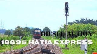 #DIESEL #MGS#ALCO #patnamugalsarai  Islampur - Patna-Hatia express with MGS Alco