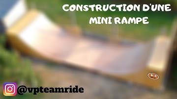 CONSTRUCTION D'UNE MINI RAMPE DE SKATE {DIY}