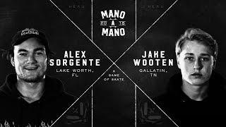 Mano A Mano 2018 - Round 2 Alex Sorgente vs Jake Wooten