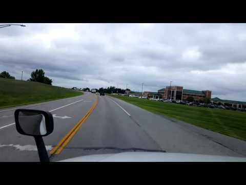 Bigrigtravels Live! Marshall,  Missouri to Boonville  Interstate 70 July 25, 2016