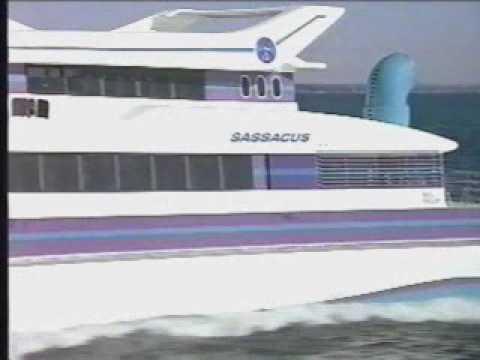Sassacus High Speed Ferry Boat - Solar Gas Turbine