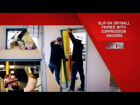 How to Install Slip-On Drywall Frames