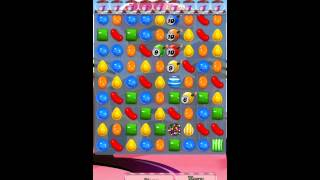 Candy Crush Saga Level 384 iPhone No Boosts