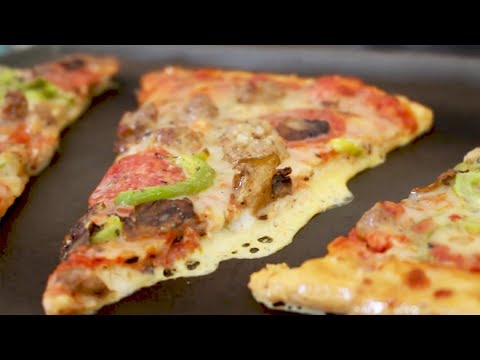 How to French Toast Leftover Pizza