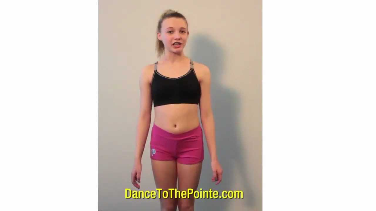 ... Dance To The Pointe Black Sports Bra For Dance - YouTube  KIDS ... 13170653bb47