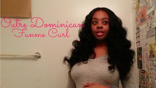 $20 Hair??! Outre Dominican Funme Curl Hair Review
