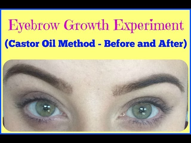 Does Castor Oil Really Make Your Eyebrows Grow