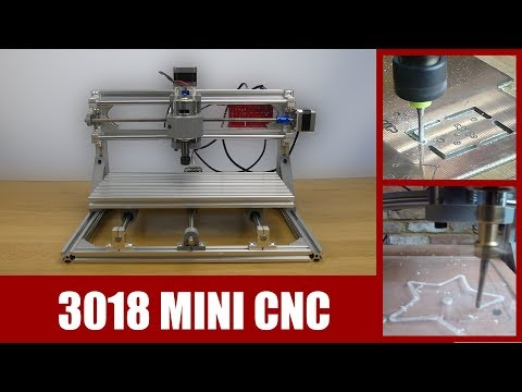Banggood 3018 Mini Cnc Router Kit Build, Test & Review