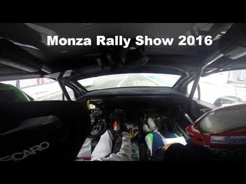 Marco Bonanomi OnBoard Monza Rally Show - Master Show 2016