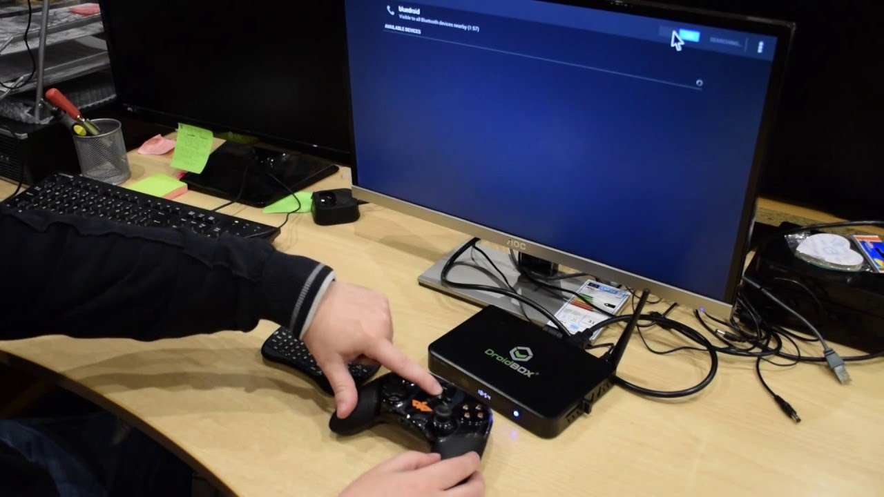 How to pair a DroidBOX Play Gamepad with your DroidBOX