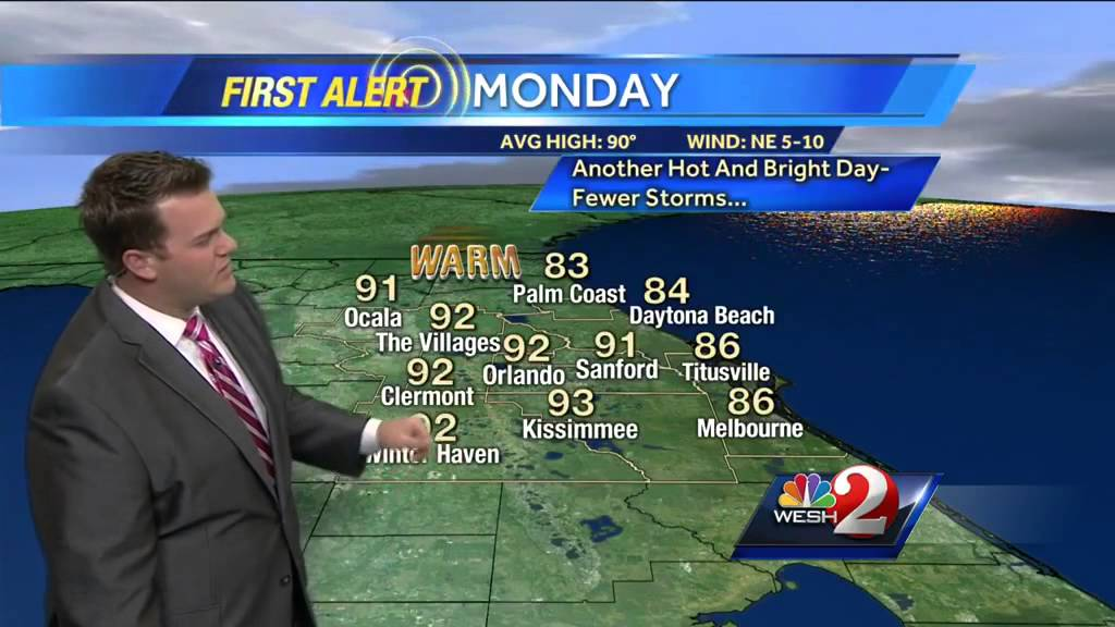 Five-day forecast: Turning drier and brighter for most