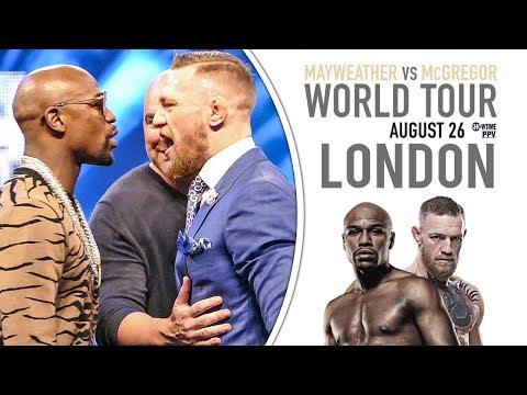 Mayweather vs McGregor World Tour LONDON | FULL STREAM